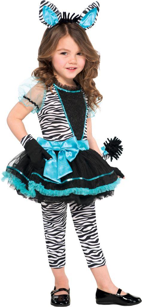 Anime Costumes Girls Girls Precious Zebra Costume