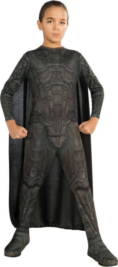 Boys General Zod Costume Man of Steel - Superman