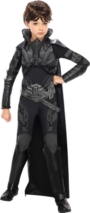 Girls Faora Costume Deluxe Man of Steel - Superman