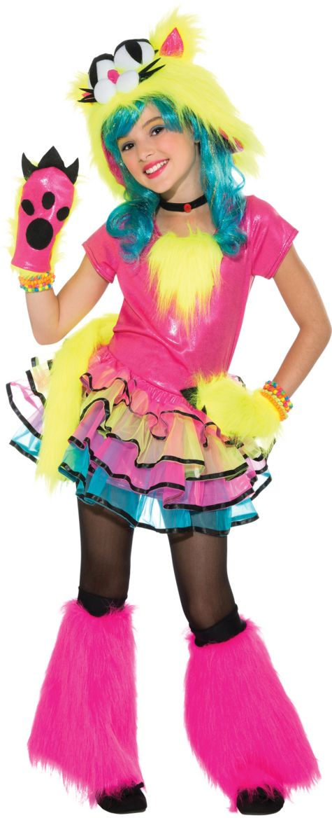Anime Costumes Girls Girls Party Cat Costume