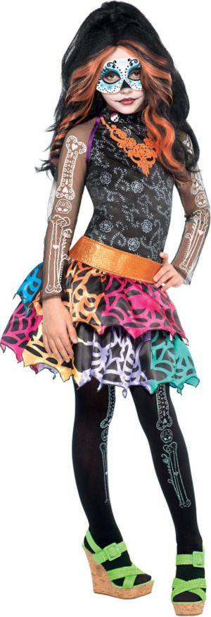 Girls Skelita Calaveras Costume Deluxe - Monster High