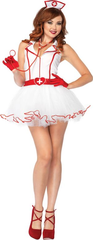Adult Ravishing Nurse RN Costume