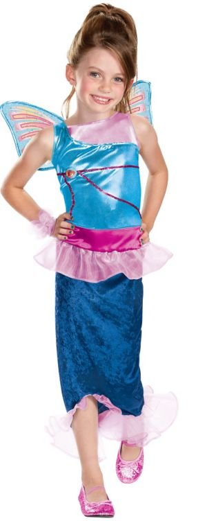 Girls Mermaid Bloom Costume - Winx Club