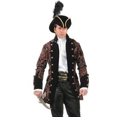 Adult Royal Rogue Pirate Jacket