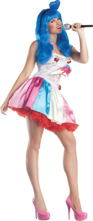 Adult Candy Girl Pop Star Costume