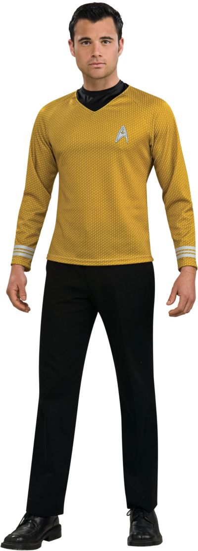 Adult Captain Kirk Costume - Star Trek 2