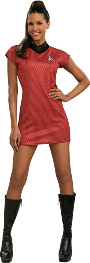 Adult Uhura Costume Deluxe - Star Trek 2
