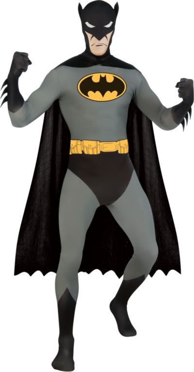 Adult Second Skin Batman Costume