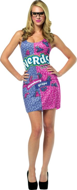 Adult Sassy Nerds Costume