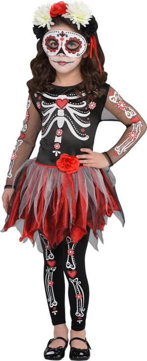 Girls Scared to the Bone Costume