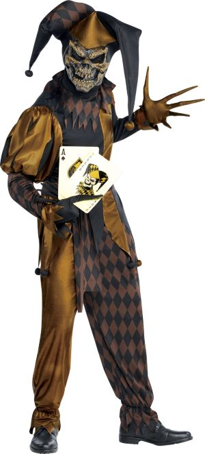 Adult Joker's Wild Skeleton Costume
