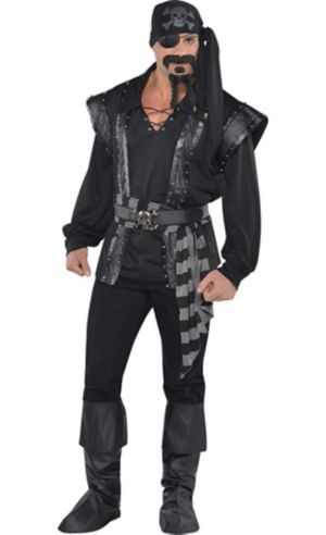 Adult Dark Sea Scoundrel Pirate Costume
