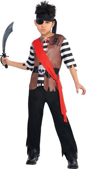 Boys Ahoy Captain Pirate Costume