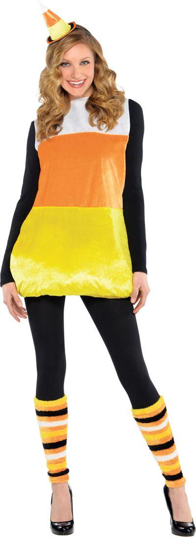 Adult Pretty Candy Corn Costume