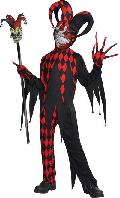 Boys Krazed Jester Costume