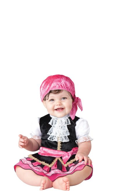 Baby Pretty Little Pirate Costume