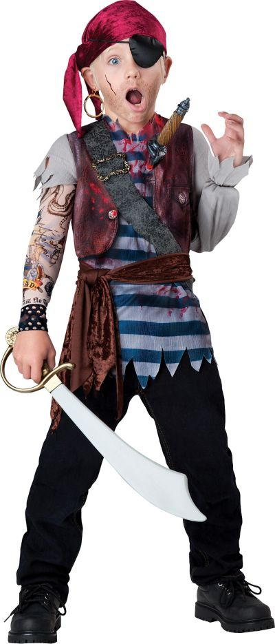 Boys Dead Man's Chest Pirate Costume