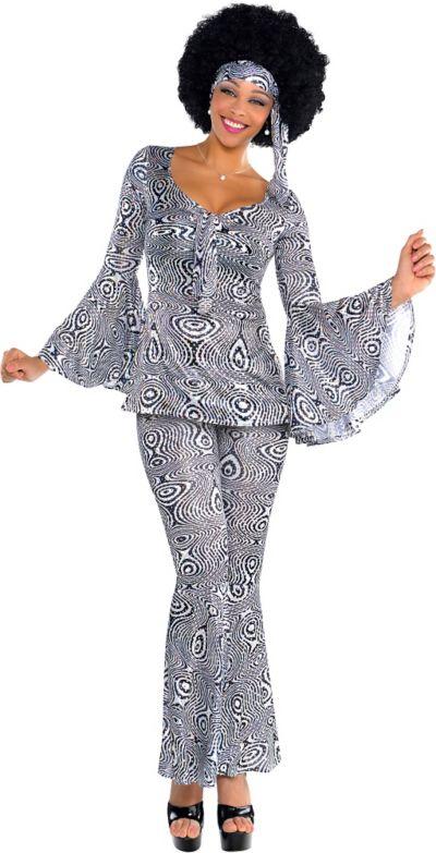 Adult Dancing Queen Disco Costume