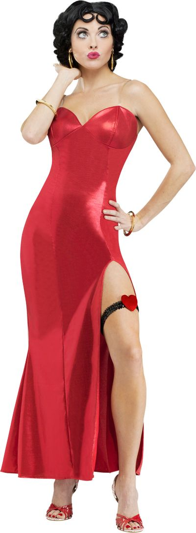 Adult Glamorous Betty Boop Costume