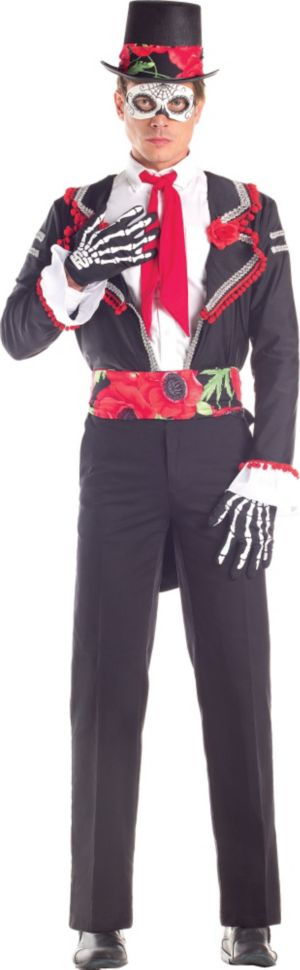 Adult Day of the Dead Senor Costume