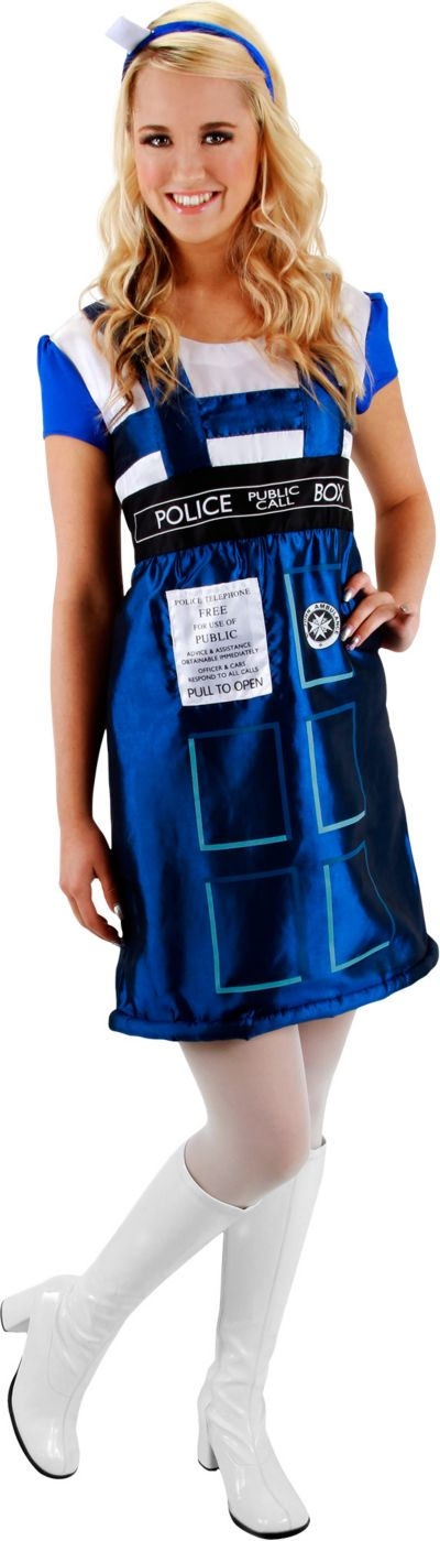 Adult TARDIS Costume - Doctor Who