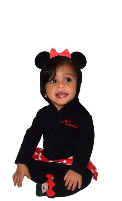 Baby Minnie Mouse One-Piece Pajamas