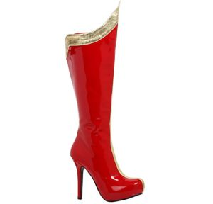 Red and Gold Wondrous Woman Boots