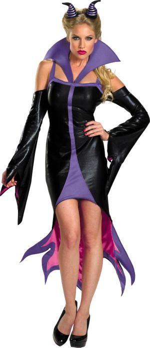 Adult Sassy Maleficent Costume