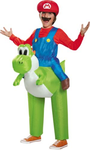 Boys Mario Yoshi Ride-On Costume - Super Mario Brothers