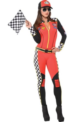 Adult Foxy Daytona Race Car Driver Costume
