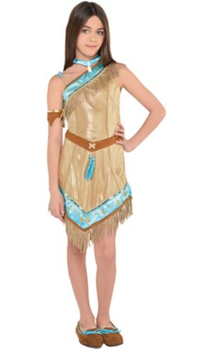 Girls Pocahontas Costume