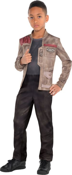 Boys Finn Costume - Star Wars 7 The Force Awakens