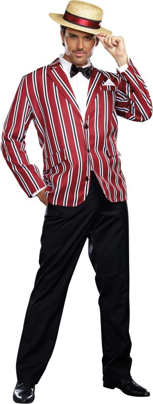 Barbershop Quartet Costume : Adult Good Times Charlie Barbershop Quartet Costume - Party City