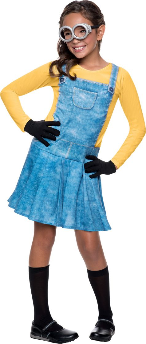 Minion Halloween Costume For Girls Girls Minion Costume Minions