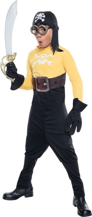 Boys Pirate Minion Costume - Minions