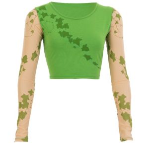Poison Ivy Crop Top - Batman