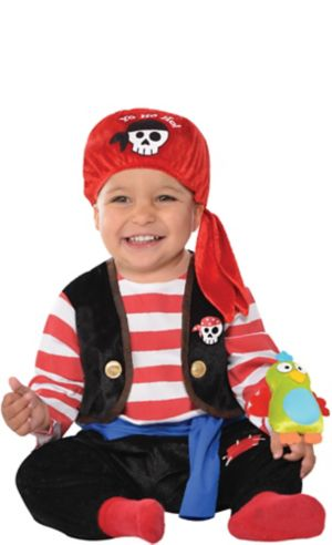 Baby Buccaneer Pirate Costume
