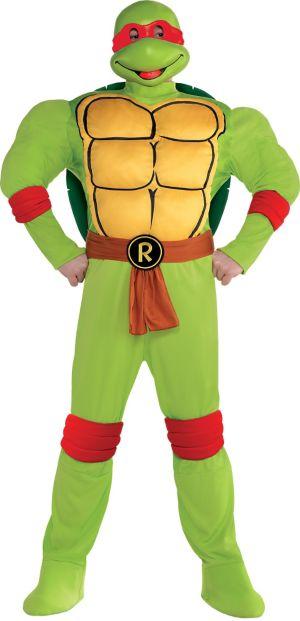 Adult Raphael Muscle Costume Plus Size - Teenage Mutant Ninja Turtles