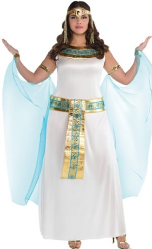 Adult Queen Cleopatra Costume Plus Size