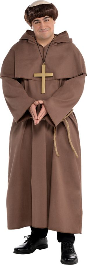 Adult Plus Size Friar Costume