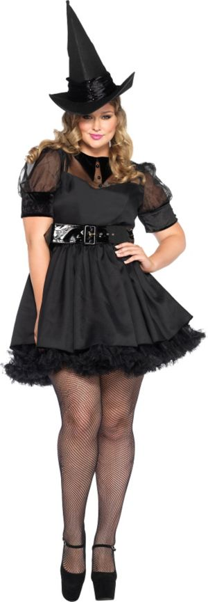 Adult Bewitching Witch Costume Plus Size