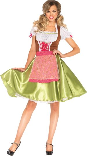 Adult Darling Greta Beer Maid Costume