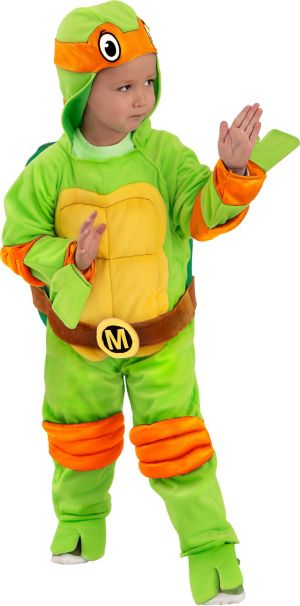 Baby Michelangelo Jumpsuit Costume - Teenage Mutant Ninja Turtles