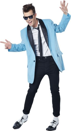 Adult 50s Teen Idol Rock n Roll Costume