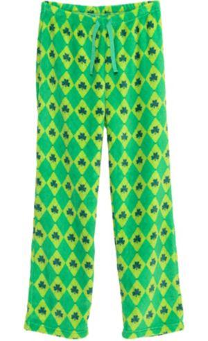 Harlequin Shamrock Pajama Pants