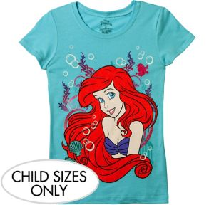 Child Ariel T-Shirt - Little Mermaid