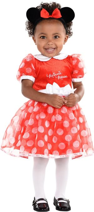 Baby Polka Dot Minnie Mouse Costume