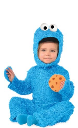 Baby Cookie Monster Costume - Sesame Street