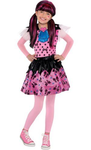 Girls Draculaura Costume - Monster High