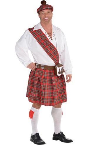 Adult Hot Shot Scott Costume Plus Size